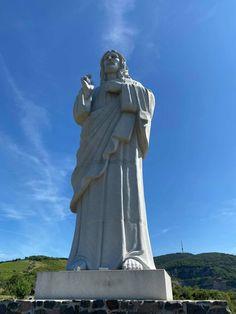 A Tarcali bányató és az Áldó Krisztus szobor   CsodalatosMagyarorszag.hu