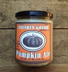 Pumpkin Ale Candle 16 oz Soy Candle by fireflycreekcandles on Etsy