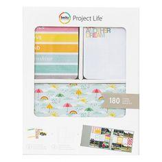Kit cartes - Project Life - Peace, Love, Fun