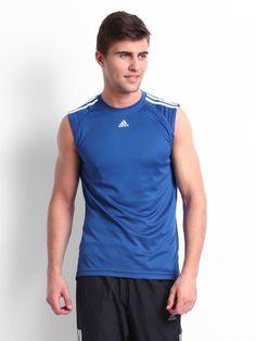 adidas blue sleeveless mens - Google Search