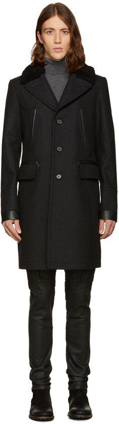 Belstaff: Grey Grovewood Coat | SSENSE