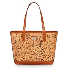 Mickey and Minnie Mouse ''Lovebirds'' Shopper by Dooney & Bourke   Disney Store