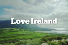 """If you love Ireland then this short video postcard called """"Ireland Inspires"""" is going to make you want to share some Irish Love. Best Of Ireland, Love Ireland, Ireland Travel, Tourism Ireland, Great Places, Places To See, Saint Patrick's Day, Irish Catholic, Perfect Gif"""