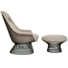 Warren Platner 1966 | Platner Easy Chair & Ottoman