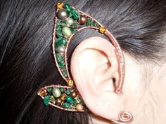 Fairy ears by LuckyDragonJewelry on etsy