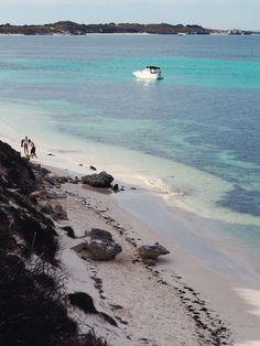Gorgeous bays and beaches at every turn on Rottnest Island, in Perth Western Australia    #rottnestisland #perth #australia
