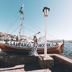A little taste of Mykonos ⛵️