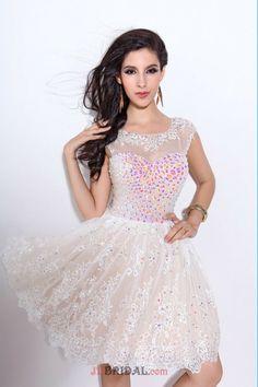 Short Halter Homecoming Dresses 2015