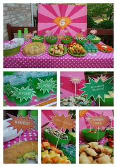 """Photo 2 of 6: Birthday """"Super Grace to the Rescue""""   Catch My Party"""