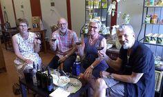 Fin dalla Svezia per degustare con noi e assaggiare la famosa panzanella della nonna Maria ;) Wine Tasting Experience, Italia