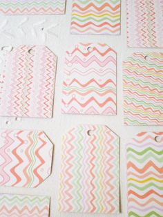 Unique chevron tags     http://etsy.me/2qsK11R           #gift #tag #wrap #gift #packaging #decor #thankyou #blank #favor #bridal #wedding #goodybag #craft