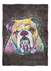 "Bulldog Blankets $34.97 - $54.97�Bulldog Fleece BlanketDo you love Bulldogs? Then this custom designed Premium Super Soft Fleece Blanket�is a MUST HAVE!�This beautiful�blanket made of ultra plush soft fleece material has finished edges to prevent fraying...And you can get them NOW, but only for a limited time!Sizes:Large -�80"" X 60"" Ultra Plush Fleece BlanketMedium -�60� x 50� Ultra Soft, Super Plush Fleece BlanketSmall -�40"" x 30"" Blanket Made of ultra plush soft fleeceWe ship with a USPS…"