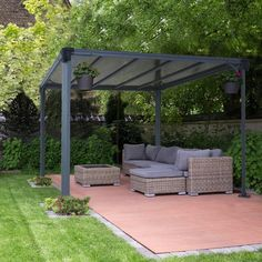 Shop a great selection of Milano 10 Ft. W x 10 Ft. D Aluminum Patio Gazebo Palram. Find new offer and Similar products for Milano 10 Ft. W x 10 Ft. D Aluminum Patio Gazebo Palram. Diy Pergola, Building A Pergola, Patio Gazebo, Garden Gazebo, Pergola Shade, Patio Roof, Pergola Kits, Building Plans, Cheap Pergola