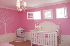 Benjamin Moore Deep Carnation - Recommended by Pottery Barn for Penelope nursery