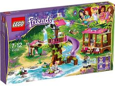 Compare prices on LEGO Friends Set Jungle Rescue Base from top online retailers. Save money on your favorite LEGO figures, accessories, and sets. Base Building, Building Toys, Toys R Us, Legos, Lego Friends Sets, Lego Girls, Lifebuoy, Little Panda, Lego Toys