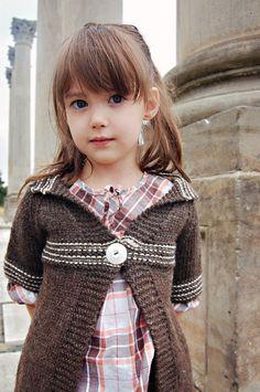 Free Knitting Pattern - Girl's Clothes: Good Tree Cardigan