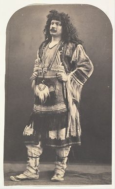 [Self Portrait in American Indian Costume] Nadar (French, Paris Paris) Date: 1863 Medium: Salted paper print from glass negative Dimensions: Image: x cm x 5 in.), arched, unevenly trimmed Mount: x cm x 8 in. American Indian Costume, Indian Costumes, American Indians, Old Pictures, Old Photos, Vintage Photographs, Vintage Photos, Rue Saint Honoré, Gaspard