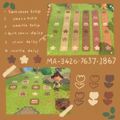 Animal Crossing Villagers, Animal Crossing Game, Nintendo Switch Animal Crossing, Motif Acnl, Spring Animals, Island Theme, Mystical Forest, Daisy, Path Design