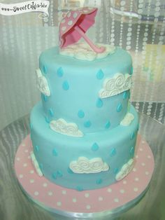 Rain Drops Baby Shower