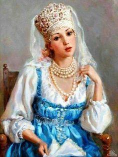 Russian beauty's