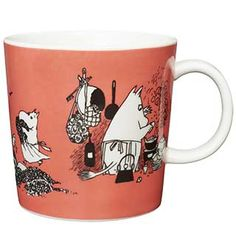 Moomin Mugs from Arabia – A Complete Overview Tove Jansson, Moomin Mugs, Marimekko, Troll, Coffee Cups, Illustration Art, Illustrations, Art Deco, Tableware
