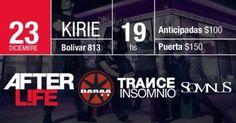 TRANCE INSOMNIO despide el año en Kirie Music Club