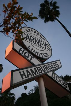 Full on Americana, restaurant in a train car on Sunset Boulevard – good for burgers and hot dogs.