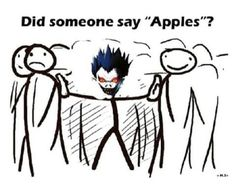 Ryuk looks so sassy in this XD