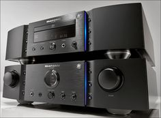 Marantz PM-KI Amplifier - Along with the SACD player, this completes the Marantz KI Pearl system.