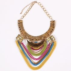 Fashion Alloy Exaggeration Multi-layer Necklace Choker Inlaid Drill Women Ladies Jewelry Necklace http://www.eozy.com/fashion-alloy-exaggeration-multi-layer-necklace-choker-inlaid-drill-women-ladies-jewelry-necklace