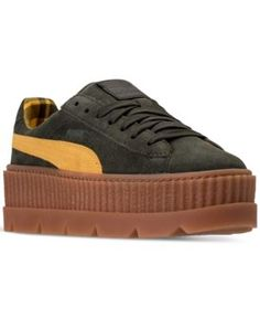 f2a02e976893 Puma Women s Fenty x Rihanna Suede Cleated Creeper Casual Shoes from Finish  Line Shoes - Finish Line Athletic Sneakers - Macy s