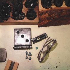 Can't wait to have the shop up so I can use some of my new handmade tools (not made by me but by other talented artists Knot & Splice supports)and super luxe American-mined stones. I've been taking and editing photos for days now (not my favorite job but I was a graphic designer in a past life so I'm grateful for the ability)...I have to take a lot of breaks because sitting is hard for me due to spine/nervous system issues. Either way I'm really excited to share this body of work. Thanks to…