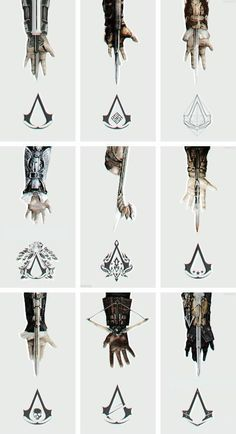 Assassins creed Hidden Blades Any of the hidden blade replicas - I have the… Assassins Creed Tattoo, Tatuajes Assassins Creed, Arte Assassins Creed, Assassins Creed Quotes, Assassins Creed Origins, Video Game Art, Video Games, Assasins Cred, Assassin's Creed Hidden Blade