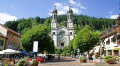 Todtnau a small, calm and beautiful city in the Black Forrest, Germany !
