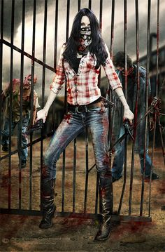 The Walking Dead by *FrozenStarRo on deviantART