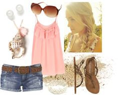 """Beachy 2"" by qtpiekelso on Polyvore"