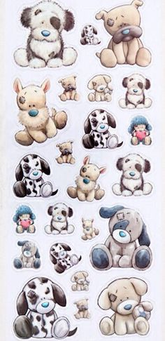 My Blue Nose Friends selection Tatty Teddy, Teddy Bear, Cute Drawings, Animal Drawings, Cute Images, Cute Pictures, Baby Animals, Cute Animals, Blue Nose Friends