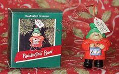 Hallmark Christmas Tree Ornament ~ Paddington Bear with a drum