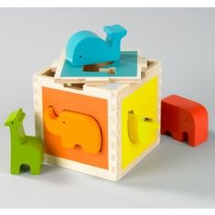 ZOO SHAPE SORTER,$32.00