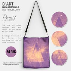 Pyramid...  #abstract #pyramid #triangle #dots #network #hipster #fashion #shapes #geometry #polygons #clouds #sky #mystic #fashionhandbag #womanhandbag handbag #liveheroes #digitalartcreations