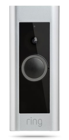 Here's the second version of the ring doorbell.  I'd get one right now if it wasn't for the fact that my doorbell doesn't face the walk way.