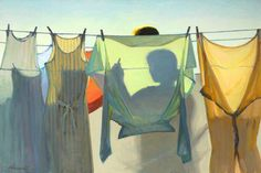 by Jeffrey T. Larson - Hanging Laundry (2009)