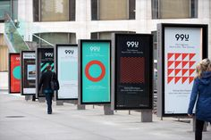 Branding project for 99U's 2016 Conference in New York City