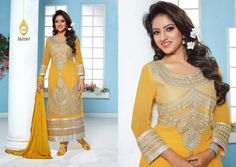 Latest Fashionable simple salwar kameez Wholesaler,Supplier,Exporter,Stockist and Manufacturer,Bollywood Celebrity Replica Anarkali Suit Dress materials,Readymade Designer Punjabi Wedding collection,Casual Printed Long Cotton exclusive party wear,best price sale tradditional indian womens clothes Deepika Singh, Punjabi Wedding, Anarkali Suits, Bollywood Celebrities, Salwar Kameez, Party Wear, Sari, Indian, Clothes For Women