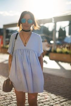 street style looks festival musica sonar 2016 barcelona huawei women-clothing. Looks Street Style, Looks Style, My Style, Trendy Style, Mode Outfits, Casual Outfits, Summer Outfits, Casual Wear, Casual Skirts