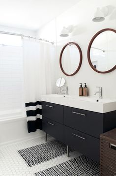This Ikea Vanity And The Rubber Flooring Are Exactly What