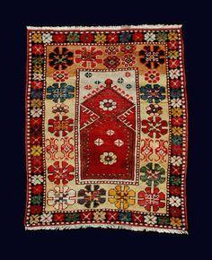 Melas, a small child's prayer rug.