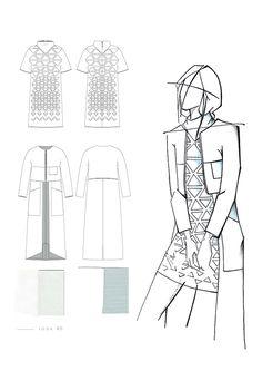 54 Ideas For Fashion Portfolio Collage Design Process Fashion Portfolio Layout, Fashion Design Sketchbook, Fashion Design Drawings, Art Sketchbook, Fashion Sketches, Drawing Fashion, Dress Sketches, Art Portfolio, Croquis Fashion