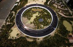 Новая модель предлагаемого Кампуса в виде «космического корабля» от Apple раскрывает новые подробности о здании