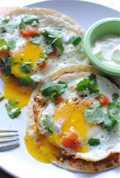 Huevos Rancheros--great breakfast for supper meal.